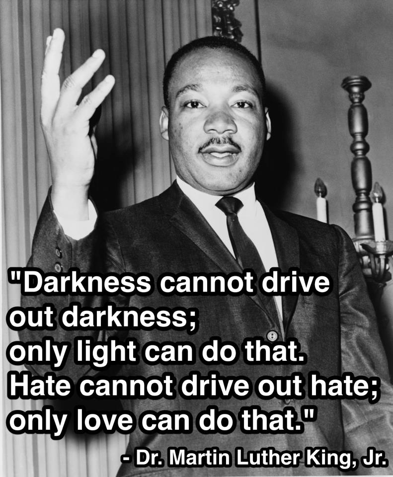 Happy Birthday Dr King Quotes ~ In honor of his work for equality three martin luther